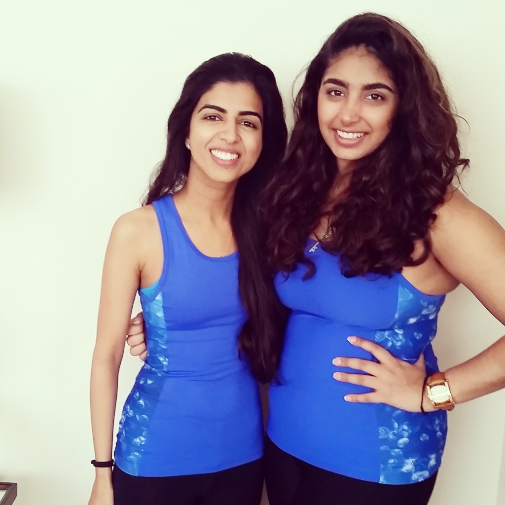 the girls behind Bella Kinesis - Roshni Assomull and Shaleena Chanrai