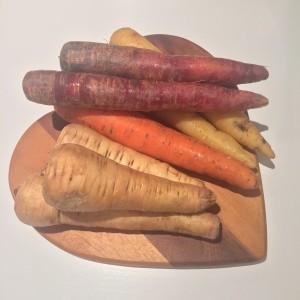 Farmdrop review - carrots