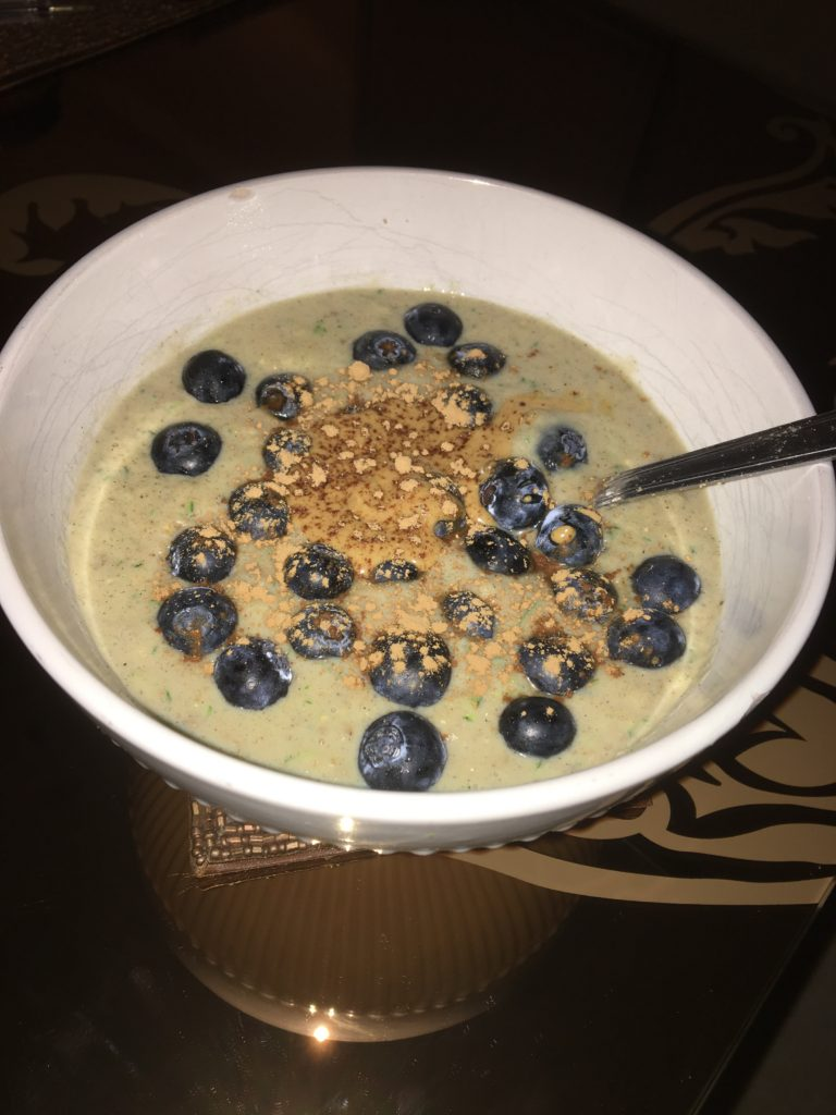 Protein zoats made using The Multitasker Berry flavour
