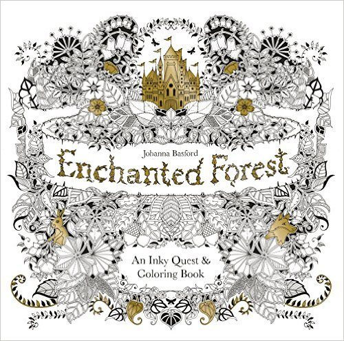 Enchanted Forest colouring in - christmas wishlist ideas