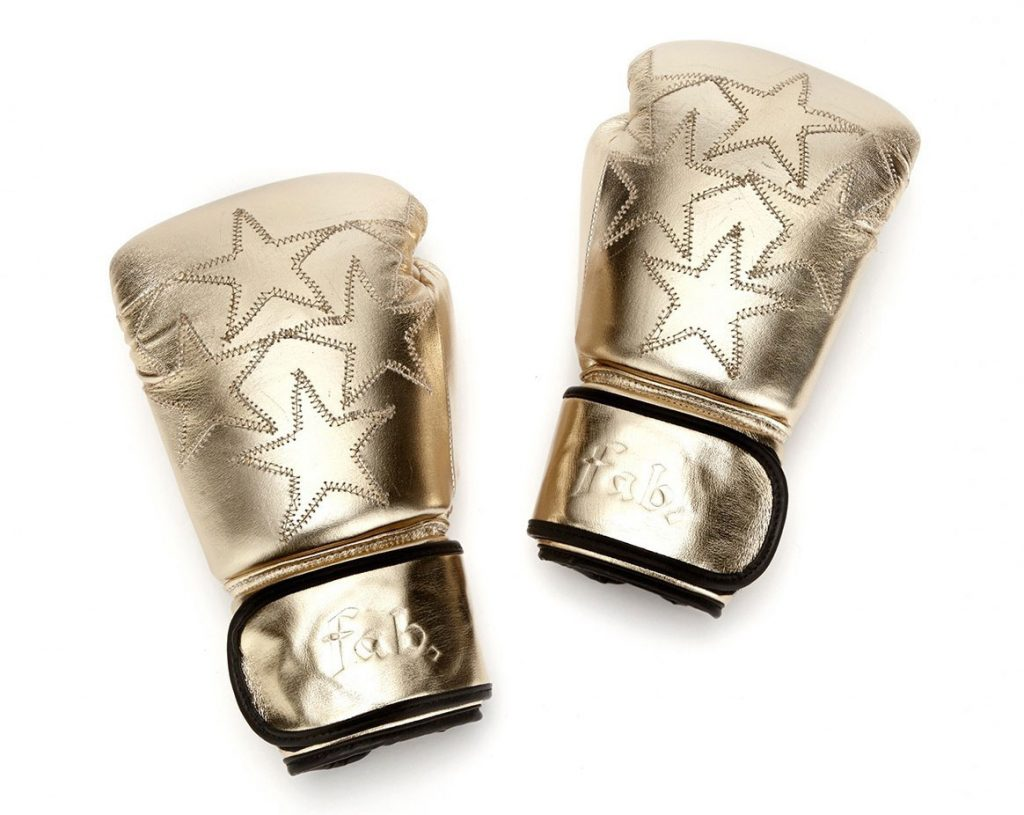 gold boxing gloves - christmas wishlist ideas