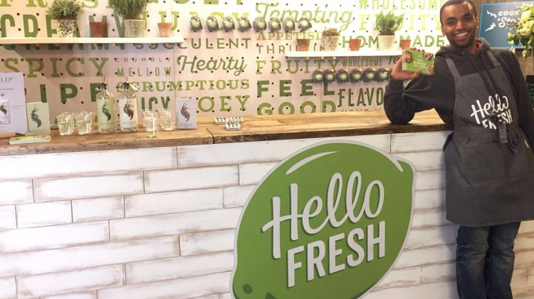 Local London News: Hello Fresh Pop Up at Old Street Station