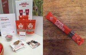 The Chia Co and their handy 'shots' are great for on the go.