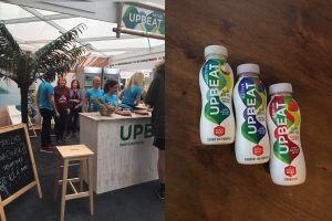 Feel UpBeat with these yummy whey drinks.
