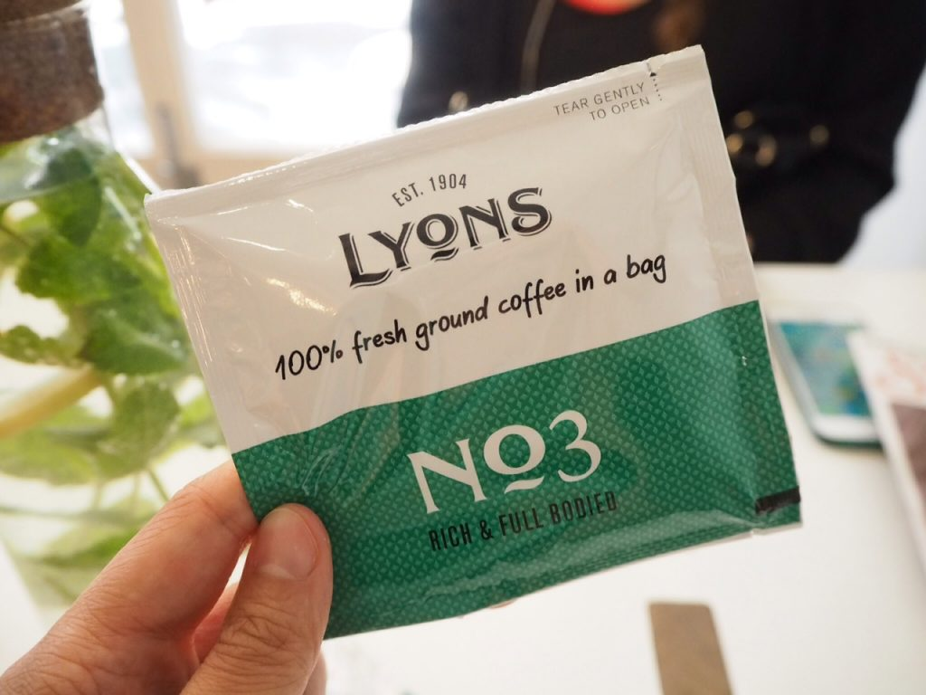 Lyons Coffee Bags review