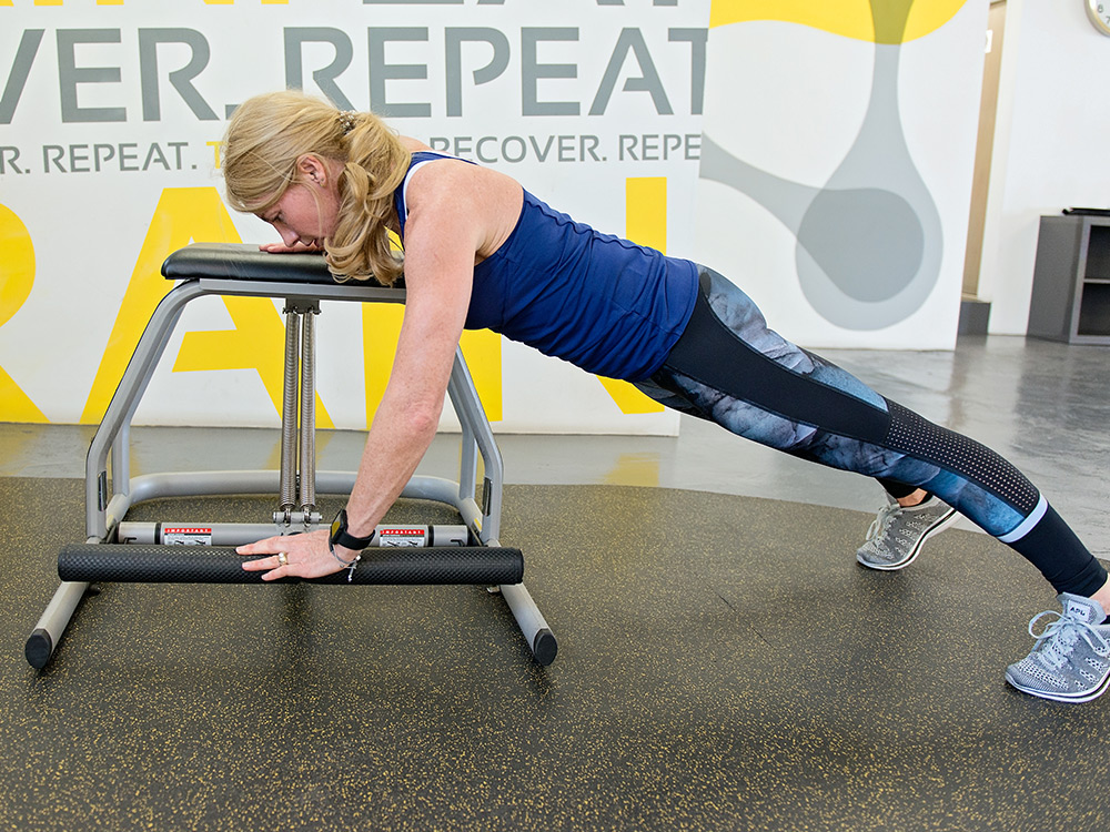 chair reformer pilates at transition zone