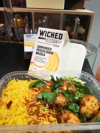 Wicken Kitchen vegan ready meals