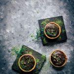 Matcha Dark Chocolate Tarts