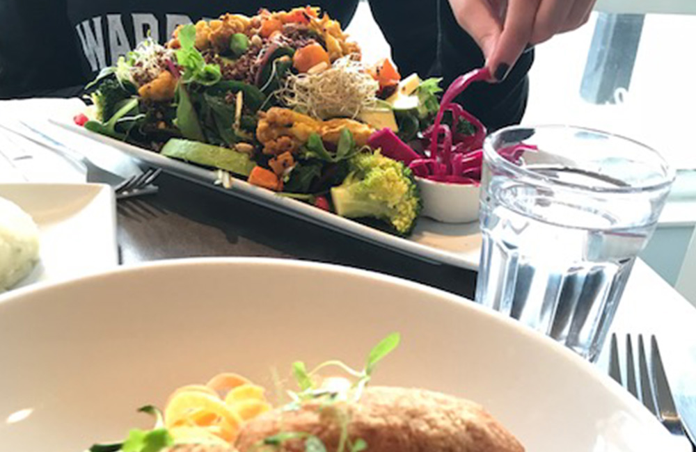 vegan food in islington - the niche gluten free