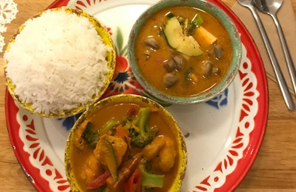 islington vegan food - rosa's thai