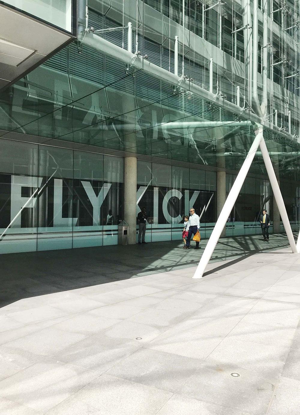 Flykick Kickboxing at Euston