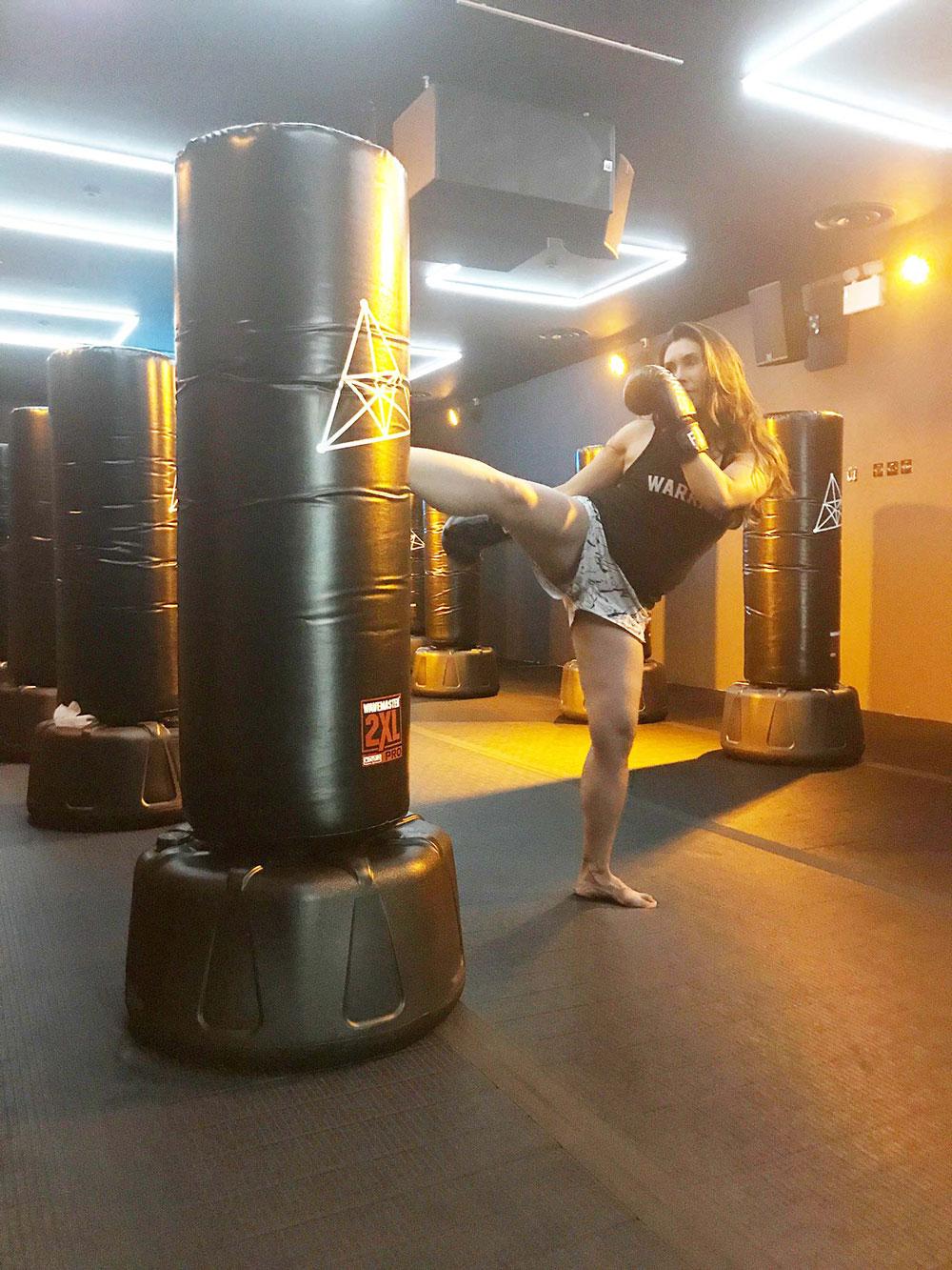 Flykick Kickboxing review - Eliza Flynn