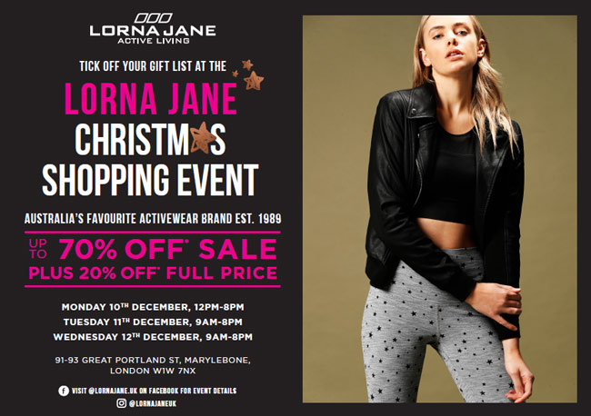 Lorna Jane Discount Sale