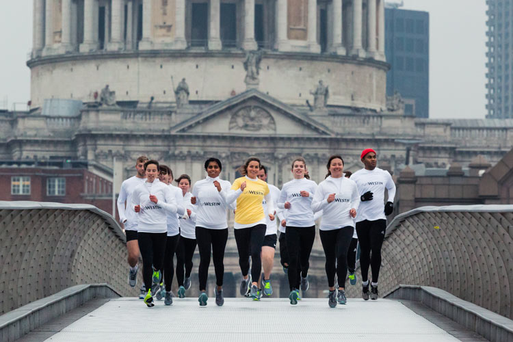 Rise & Run with Westin hotels