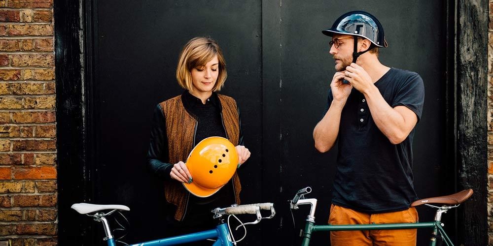 Dashel bike helmets - chic cycle wear