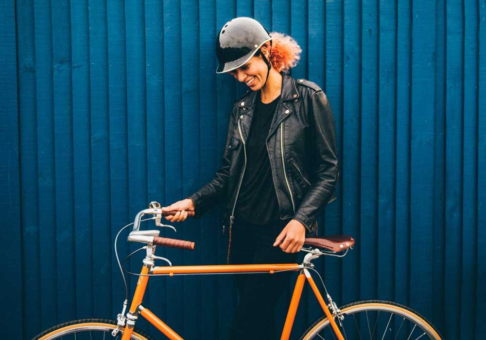 Black Dashel bike helmet