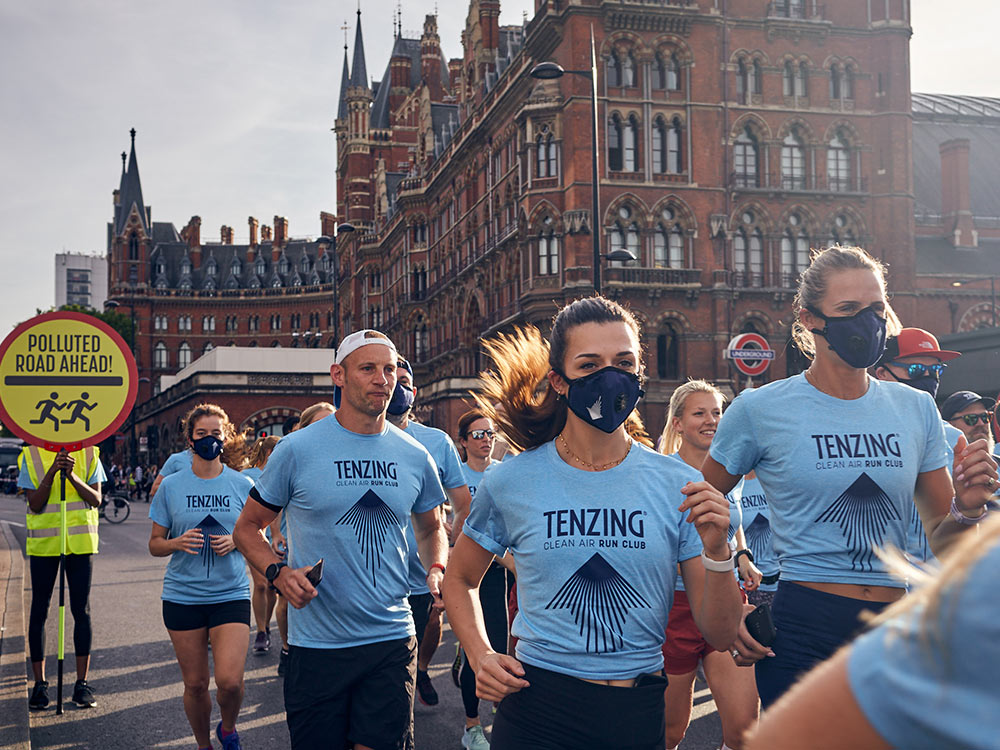 Tenzing Clean Air Run Club
