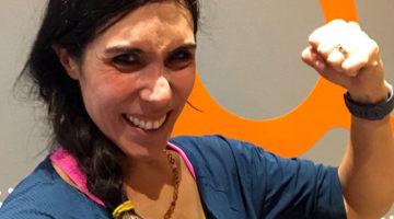 orangetheory islington - sweaty selfie eliza flynn