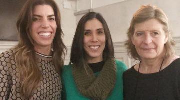 Vicki Anstey, Eliza Flynn and Erica Wolfe-Murray
