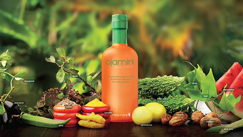 Ojamin fruit & Herb bottle