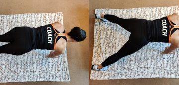 Plank jacks - 3 Orangetheory Fitness Home Workouts