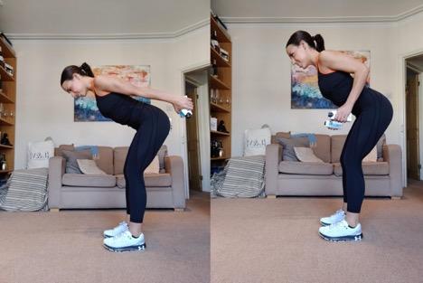 Tricep Kickbacks - 3 Orangetheory Fitness Home Workouts