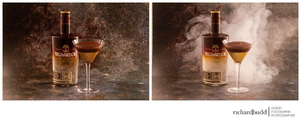 Wild Arbor Vegan Chocolate Martini Mousse recipe using plant-based cream liqueur