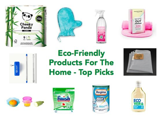 Eco-Friendly Products For The Home - Top Picks