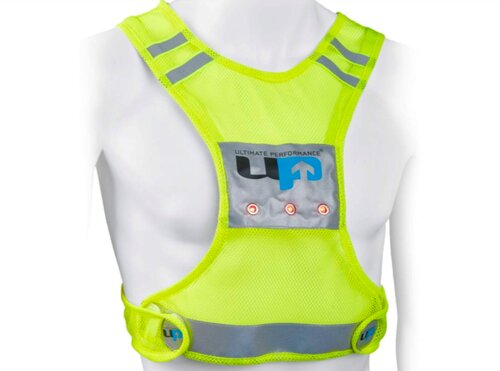 visible at night - UP LED vest