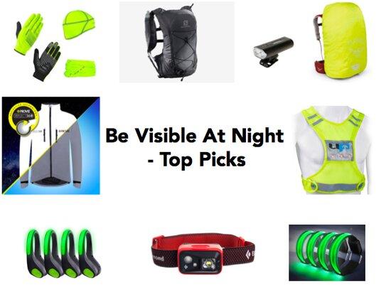 visible at night - top picks