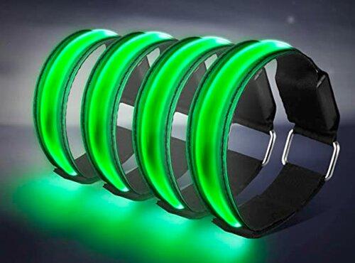 visible at night - LED armband