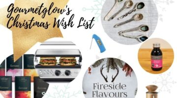 Susie Morrison of Gourmetglow's Foodie Christmas Wish List