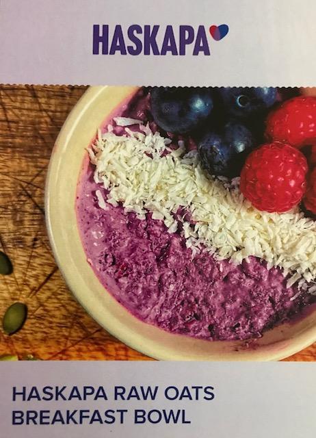 Haskapa raw oats recipes