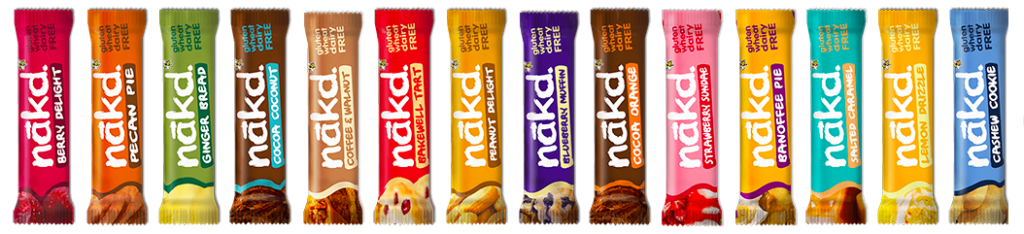 January's Top Picks - Vegan Edition - Nakd Bars