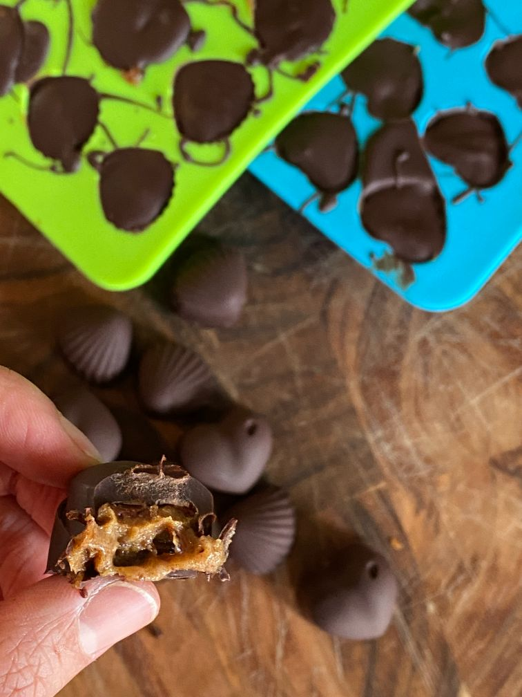 vegan chocolate caramels recipe