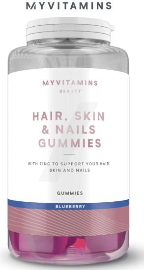 MyVitamins Hair. Skin & Nails gummies