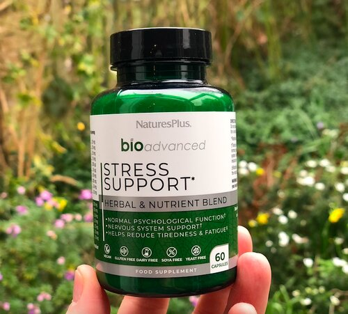 March round up - BioAdvanced Stress Support from Natures Plus