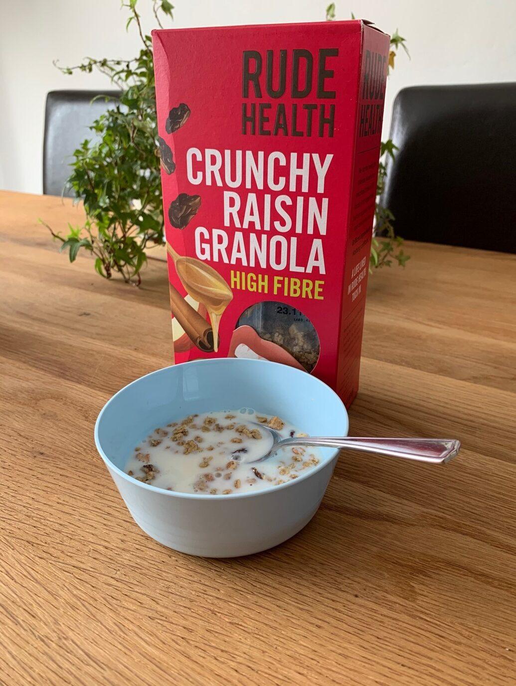 Rude Health Crunch Raisin Granola