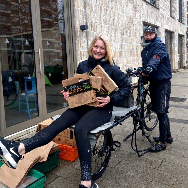 One Planet Pizza delivery tackling food poverty