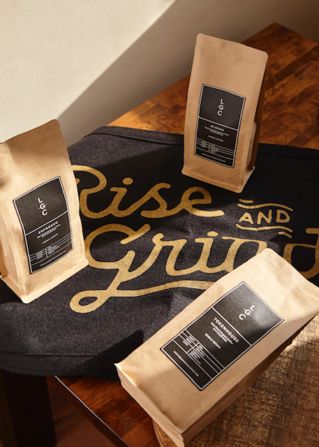 London Grade Coffee beans - rise and grind