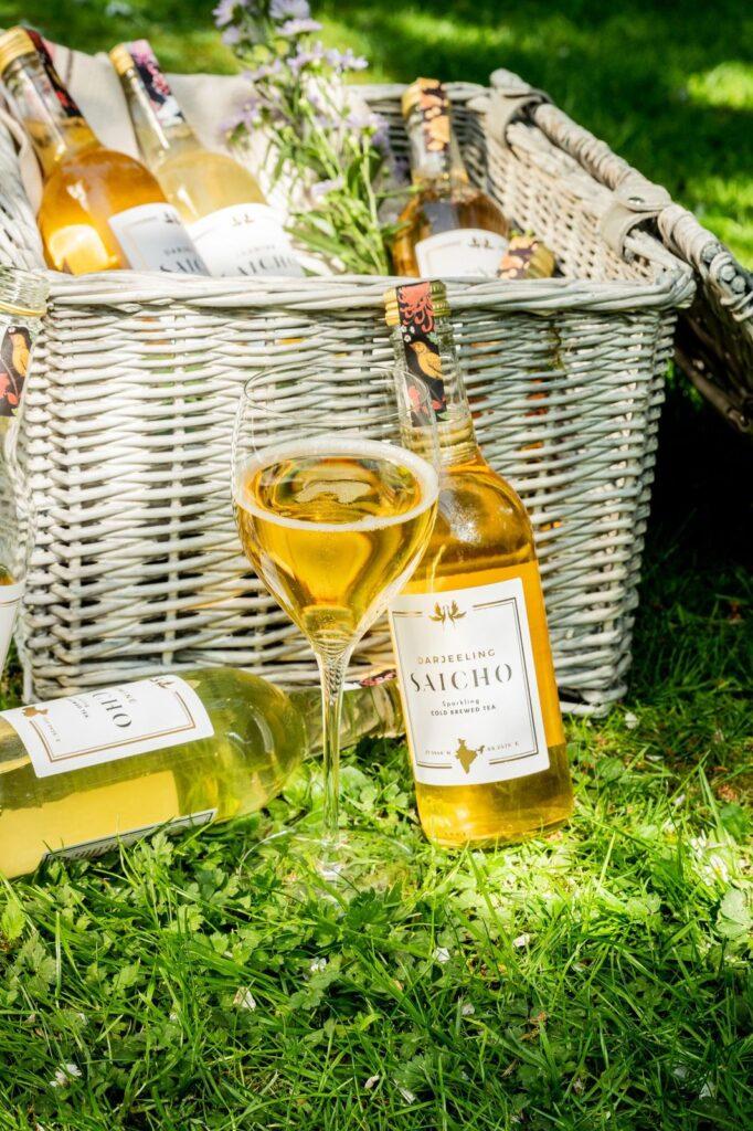 Saicho non-alcoholic tea perfect for picnics