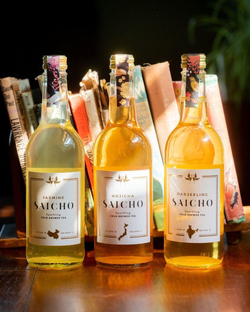 Saicho non-alcoholic iced tea