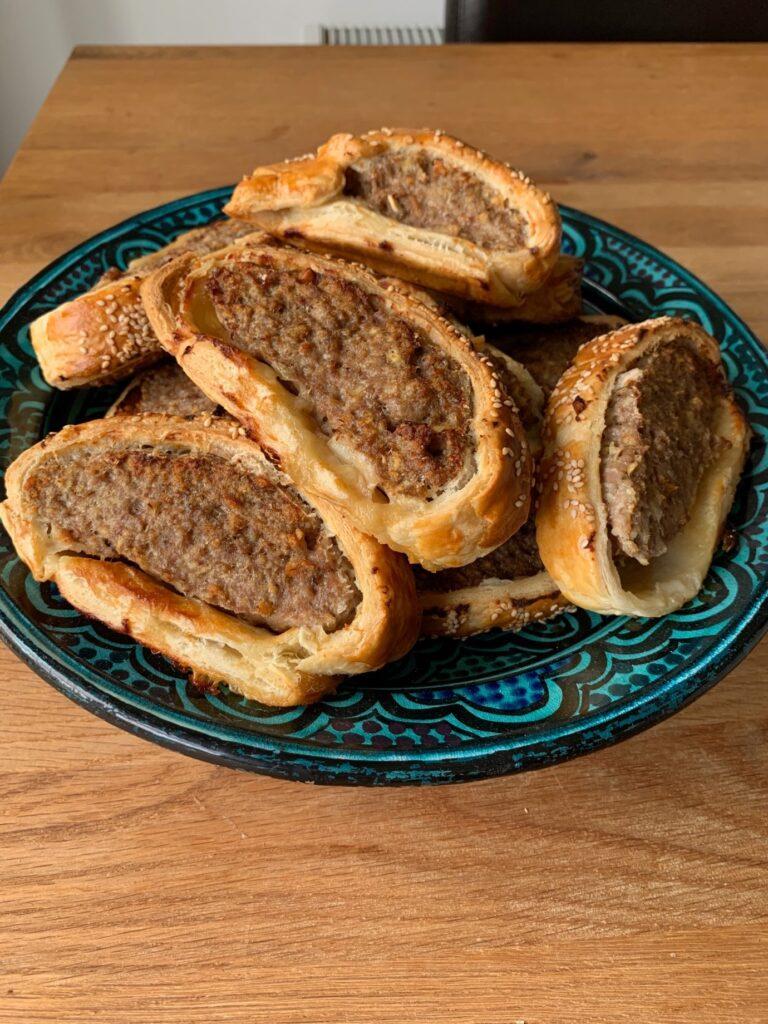 Banh Mi Sausage Rolls