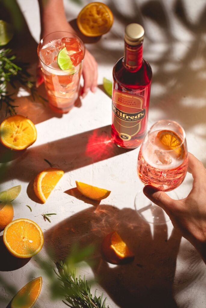 Non-alcoholic Spritz from Wilfred's