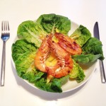 Deliciously simple prawn and mango salad recipe