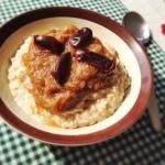 autumn rhubarb porridge recipe