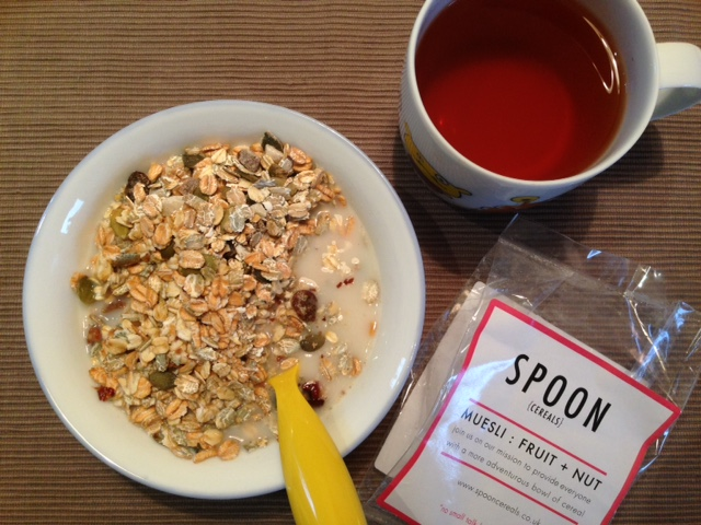 Spoon cereals review - fruit and nut muesli