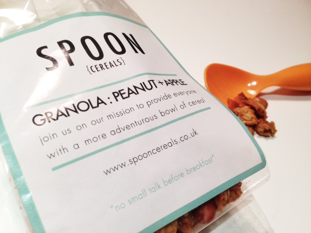 Spoon Cereals review - peanut and apple