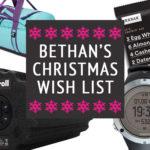 Bethan Taylor's sporty christmas list