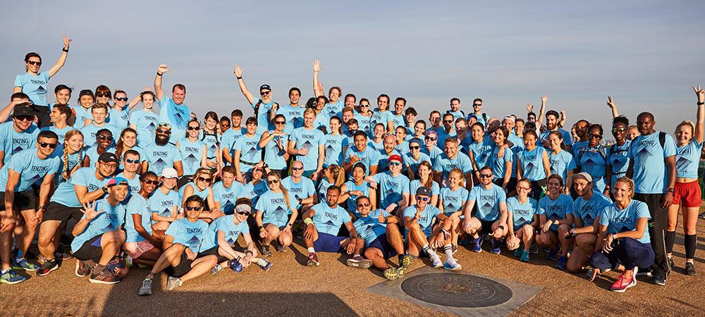 Runners from the Tenzing Run Club